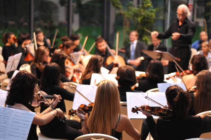 Młodzieżowa Orkiestra Symfoniczna z Pampeluny w Lubostroniu