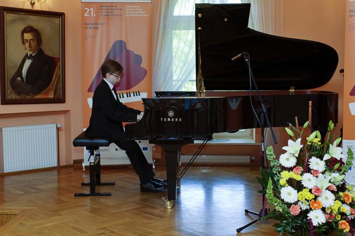 21 Międzynarodowy Konkurs Pianistyczny im.F.Chopina dla Dzieci i Młodzieży Przesłuchania konkursowe