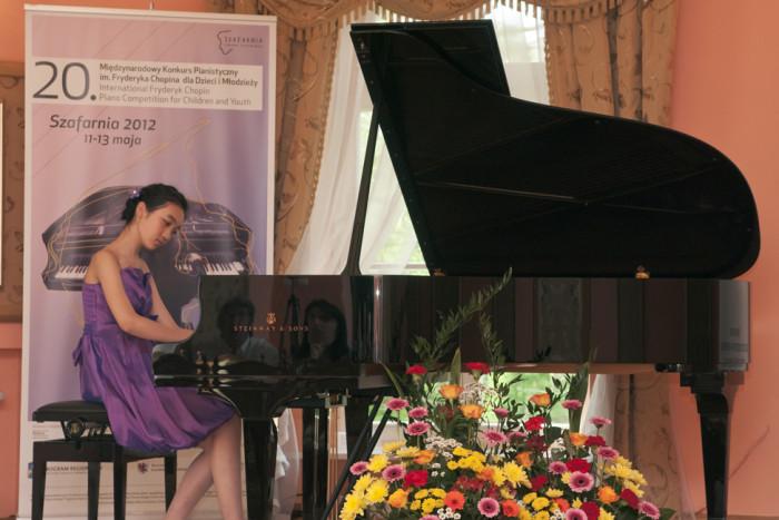 20 Międzynarodowy Konkurs Pianistyczny im. F. Chopina dla Dzieci i Młodzieży, Szafarnia 2012