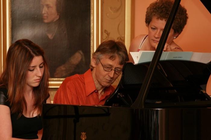Koncert uczestników Międzynarodowego Kursu Mistrzowskiego Muzyki Fortepianowej i Kameralnej