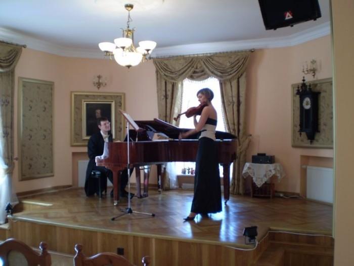 Wiosenna muzyka na skrzypce i fortepian