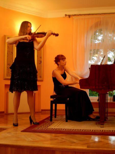 Muzyka na skrzypce i fortepian