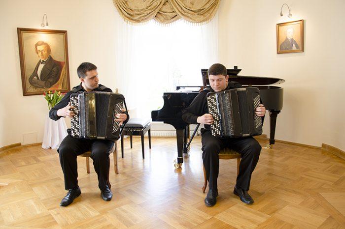 Klasyka na dwa akordeony