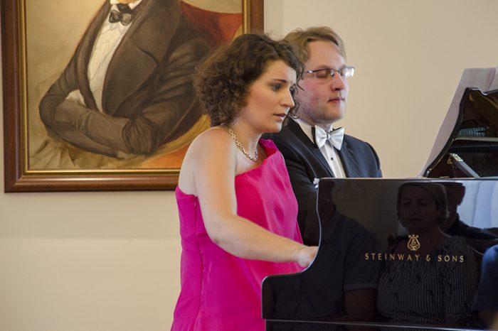 Duet fortepianowy Jekaterina i Stanisław Drzewieccy