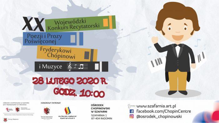 XX Wojewódzki Konkurs Recytatorski