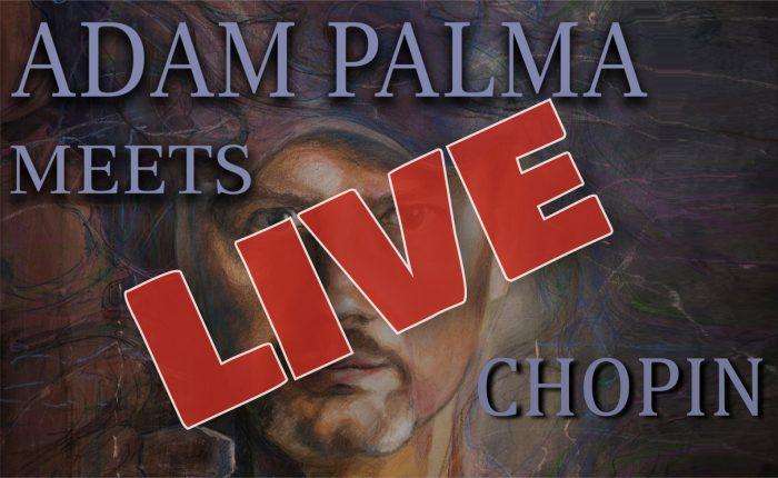 Koncert online Adam Palma meets Chopin w Szafarni