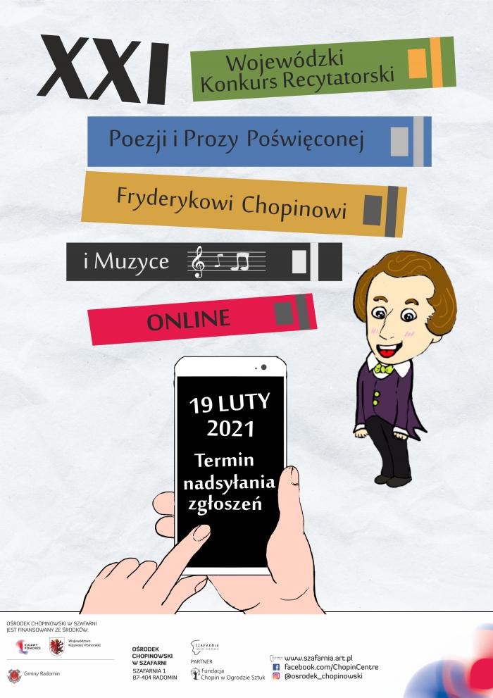 Zamykamy listę uczestników XXI Wojewódzkiego Konkursu Recytatorskiego