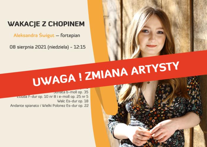 Wakacje z Chopinem – Aleksandra Świgut