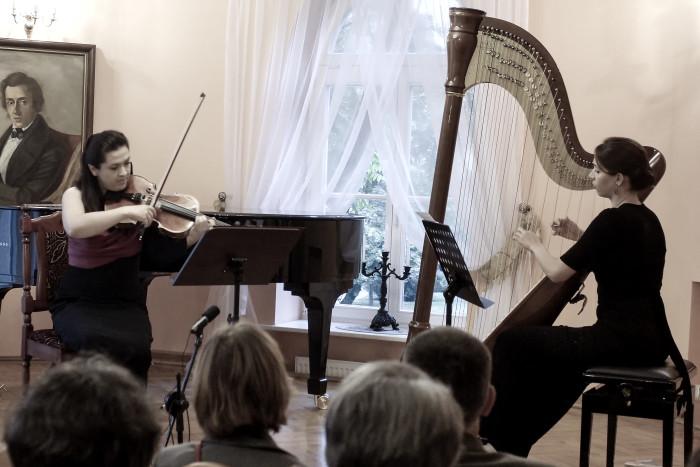 Jesienne impresje na obój, altówkę, harfę i fortepian