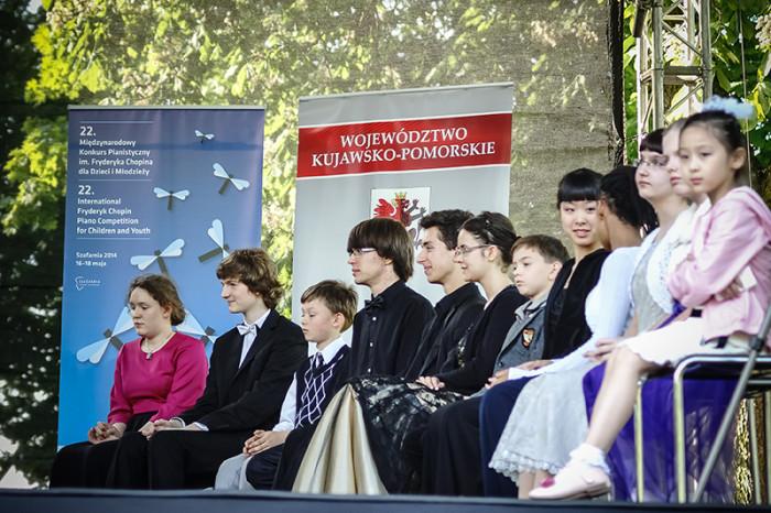 Plenerowy Koncert Laureatów 22 Międzynarodowego Konkursu Pianistycznego