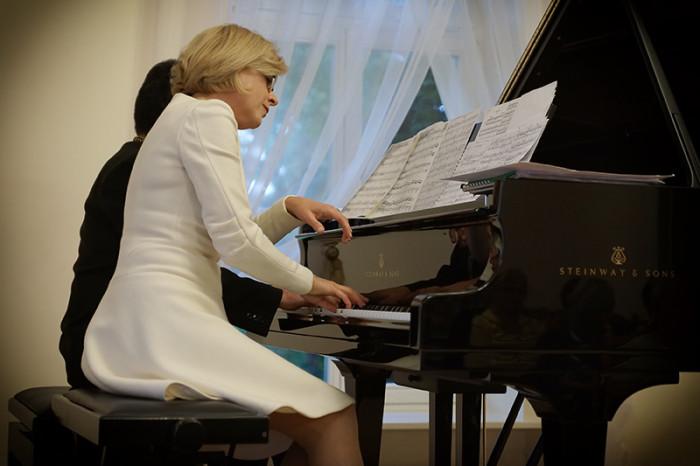 Muzyka polska na cztery ręce